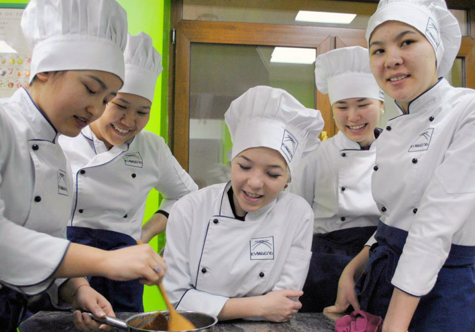 Kumbel teaches skills for jobs in hospitality, tourism and catering